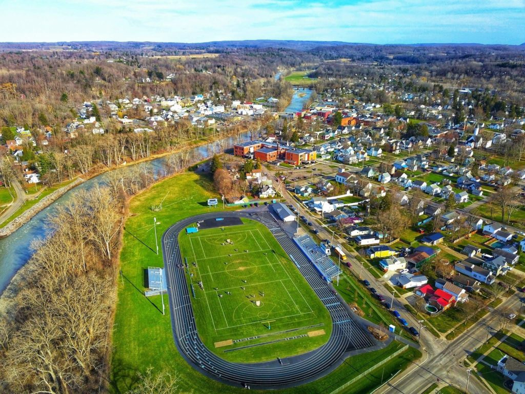 Ariel View of Hillis Field