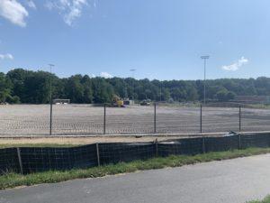 Baseball field Aug. 7, 2020