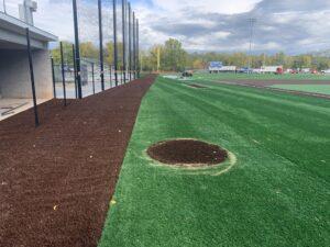 Baseball field on Sept. 30, 2020.