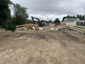 Work at the Panther Bridge site continues Sept. 11, 2020