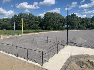 Softball field on Sept. 4, 2020