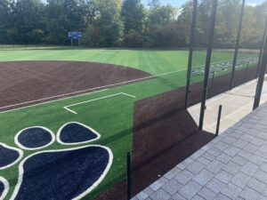 Softball field on Sept. 30, 2020.